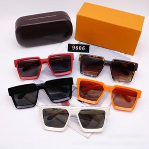 Sunglass kaplı erkekler Parlak Altın Logo Altın için erkeklerin tam çerçeve Vintage tasarımcı moda güneş gözlükleri için MİLYON gözlükleri markaları