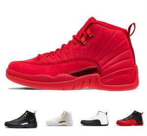 Zapatillas de baloncesto 12s para hombre Winterized WNTR Gym Red Michigan Bordeaux 12 Black The Master Flu Game Taxi Sports Sneaker Baskets Pour Femmes