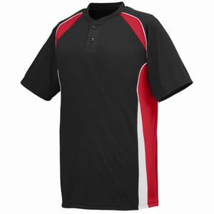 000 58 545 personalizzata da baseball maglia Blank Button Down Pullover Uomini Donne formato S-3XL