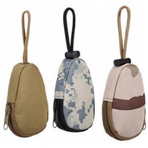 فائدة نايلون التمويه التكتيكي حزمة مفتاح المشي التخييم السفر للماء مفتاح الحقيبة حقيبة محمولة مصغرة DH0838