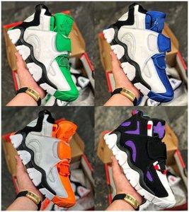 New New Arrival Barrage Mid QS Scottie Pippen Kids Basketball Shoes Hyper Grape Purple Raptors Black White Yellow Sneakers