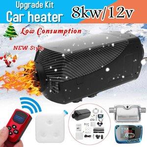 8000W Air locomotivas diesel Aquecedor 8KW 12V Car aquecedor para Caminhões Motor-Homes Barcos Bus + monitor LCD Chave + Remote Control +
