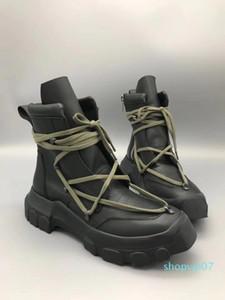 Hot Sale-18SS Frühling und Herbst neue Liste TPU Sohlen italienischen echter Lederstiefel High-End-Hardware-Männer Art und Weise beiläufige importierten Schuhe