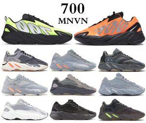 700 MNVN عاكس البرتقال العظام موجة عداء الرجال النساء الاحذية أحذية رياضية الصلبة رمادي التناظرية تيل الكربون الأزرق مصمم الأحذية