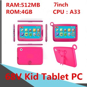 A33-86V Children 7inch Kid Tablet PC Computer Capacitance Quad Core Android Dual Camera 4GB 8GB RAM 512MB 1GB ROM WIFI Bluetooth Facebook