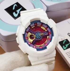 Feminino Montre Femme 2020 modo del bambino di scossa di sport Elettronica Orologi da polso bambini di alta qualità di orologi della vigilanza analogica G Clock Saat