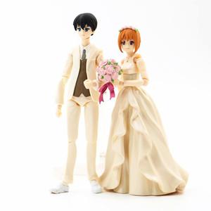 Anime 1 8th Scale Bridgegroom & Bride Variant Action Figure Wedding Scene Ver. Body PVC figure Toy Brinquedos 12CM