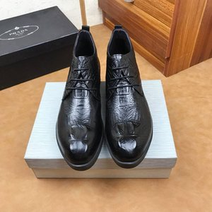 Şık erkek deri ayakkabı iş takım elbise ayakkabı İngiliz sivri rahat gelinlik tuvalet ayakkabısı 121501