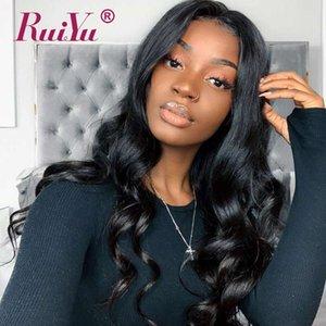 13X6 Body Wave Human Hair Lace Front Wigs For Black Women perruques de cheveux humains Glueless Virgin Wavy Hair Wigs Ruiyu Mongolian Wigs