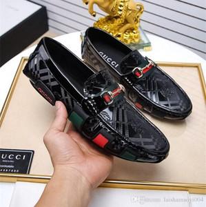 Iduzi Marka Tasarımcıları Erkekler Glitter Rahat Medusa Ayakkabı adamın Resmi Elbise Ayakkabı Damat Homecoming Düğün için G