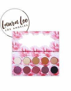 Laura Lee Los Angeles Eye Makeup 10 Color Matte Nude Backstage Cat'S Pajamas Shimmer палитра теней для век