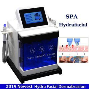 2019 Nouvelle Hydra Dermabrasion Machine Eau Diamant Microdermabrasion Peau Profondément Hydratée Hydra Rajeunissement Dermabrasion Hydrafacial Dispositif