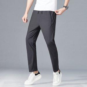 Ymwmhu 2020 Pantaloni di tuta Pantaloni Uomo solido elastico sportivo di sport del Mens Pant Uomo Running Giuramento Jogging pantaloni della tuta
