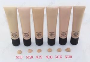 Fundación de base de maquillaje profesional Largo Duración natural 6 Diferentes color 40ml envío epacked