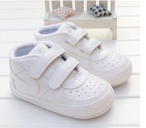 Малыш Детские Prewalkers Обувь новорожденные Мальчики Девочки Мягкая Soled шпаргалки Обувь Prewalker Модельные аксессуары