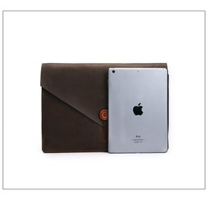 The new mad horse leather pro15.4-inch mac12-inch for macbook air 13.3-inch laptop case