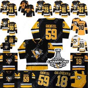 Pittsburgh Penguins Jersey Juuso Riikola Dominik Simon Jared McCann Chad Ruhwedel Marcus Pettersson Tristan Jarry Zach Aston-Reese