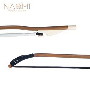NAOMI Erhu Bow Violino cinese Bow Black Horse Hair Strumento di alta qualità Accessori per archi Novità