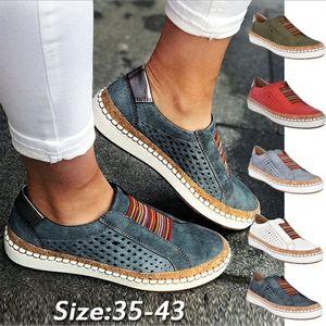 KAMUCC Puimentiua Sneakers Kadınlar vulcanize Casual Nefes Ayakkabı Kadın Yumuşak Deri Flats Bayanlar Sneakers Boyutu 35-43 Ayakkabılar
