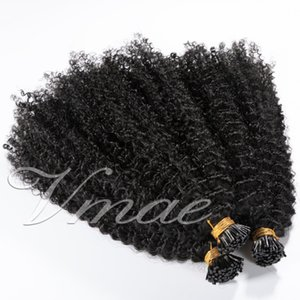 Malaysian Remy Virgin I Tip Pre Bonded 100g Keratin Stick Body Wave Afro Kinky Curly Straight 4A 4B 4C Human Hair Extensions
