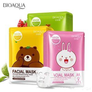BIOAQUA Red Granatapfel Maske Obst Tiere Mascara Gesichtsmaske Behandlung Blatt Masken koreanische Kosmetik tony Moly Peelings Hautpflege Epack Akne