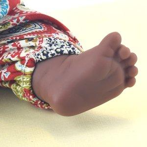 black baby dolls pop green African! 12inch reborn silicone vinyl 30cm newborn poupee boneca baby soft toy girl kid todder