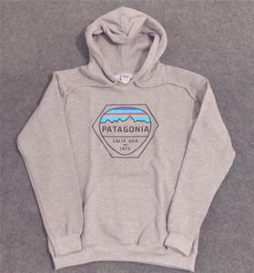Mens 18SS Hoodies PATAGONIA MOUNTAIN Designer camisolas de lã Moda Tops Pullovers mulheres homens do desenhista hoodies frete grátis