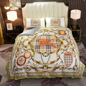 리넨 이불 이불 커버 침대 간단한 이불 커버 세트 꽃 인쇄 침구 세트 코튼 소프트 퀸 킹 사이즈 침구 세트