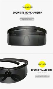Best2020 Europe and the United States fashion big frame sunshade óculos de sol à prova de areia Big mask electric car windshield manufacturers direct