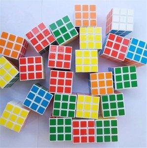 cubo criativas brinquedos intelectual de publicidade stands suave das crianças venda quente terceira ordem de Rubik materiais ecológicos