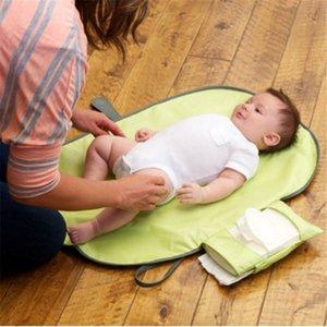 Couches pour bébés matelas à langer Nappy portable étanche Changing Pad station Voyage d'embrayage Baby Care Products poussette Hangs