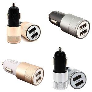 1PC New Car Dual USB Charger Porto Duas camas Twin USB Universal Plug Para Car isqueiro carregador adaptador