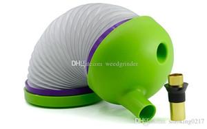shisha plastica secco erbe Pipe flessibili creativi all'ingrosso Strench Caterpillar Shiha Travle portatile tabacco da pipa