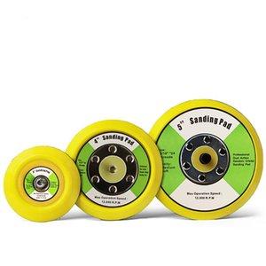 """3'' 4'' 5"""" set polishing sander backer plates hook & loop sanding backing pads for car polisher air sander buffing disc polish"""