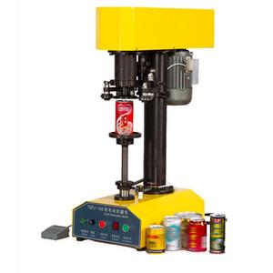 Semi-automático de Lata Selagem Smartbud Tin POP-TOP erva seca pode selador para o plástico pode e metal pode (TDFJ-160)