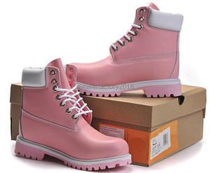 Marka Çiftler Gerçek Deri Sıcak Kar Bot Kış Erkekler Kadınlar Su geçirmez Açık Boots Casual Martin Boots Yürüyüş Spor Ayakkabıları Yüksek Cut