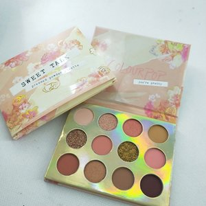 Dropshipping IN Stock !!! 2019 New makeup colourpop SWEET TALK 12 color eyeshadow palette