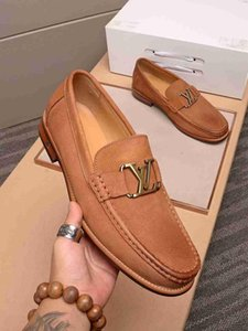 2019Designer Mens Luxury Shoes Trainers SneakersLVLouisMen's Business Casual Shoes 38-44 1190-13