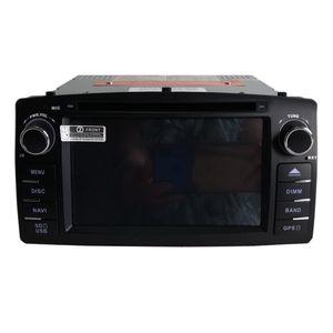 Nuevo reproductor de DVD de coche de envío gratis para Corolla E120 2003 2004 2006 2006 2007 2008 gps de navegación bluetooth reproductor de radio Soporte de cámara