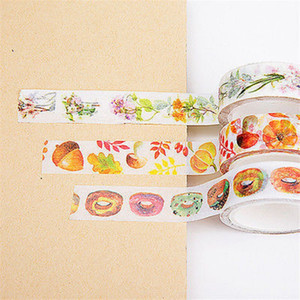 Estilos Mutil Fita Washi Masking Paper Wall Stickers Scrapbooking Deco Gift Wrap