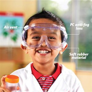 Gafas de seguridad Protección de los ojos Gafas Gafas Gafas Gafas a prueba de salpicaduras Anti-polvo de Seguridad en el Trabajo a prueba de viento del ocular