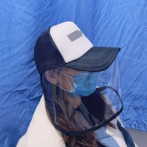 anti-fog men women baseball cap masks dust mask protective cap anti saliva Korean mask hat LJJA3845