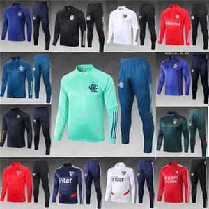 2020 2021 CR Flamengo Fußballtrainingsanzug GABRIEL B. Fußballtrainingsnazuginstallationssätze Frankreich Anniversary 19 20 neueste Trikot camisas de futebol Uniformen