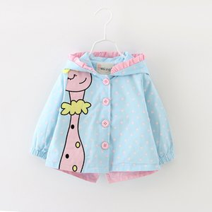 Newborn Baby Girl Jacket 2020 Autumn Bow Coat Infant Clothes For Children Baby Girls Fashion Clothing Baby Coats