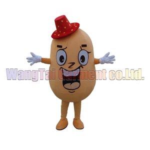 fantasias de personagens de banda desenhada deluxe Murphy mascote traje fantasia vestido partido traje novo Potato mascote grau superior carnaval frete grátis