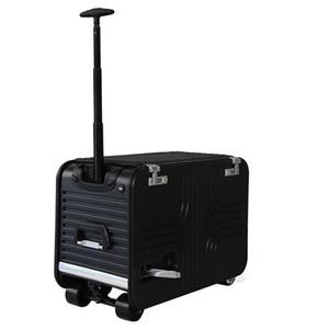 Bicicletta elettrica della valigia del progettista-20 con la grande capacità Smart portatile astuto del motorino dei bagagli da 28 pollici con USB che carica