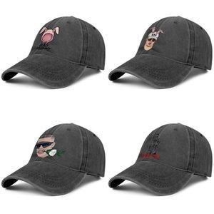 سيئة الأرنب الرجال والنساء سائق الشاحنة الدينيم غطاء بارد classicsports مصمم الأزياء لعبة غولف البيسبول stylishpersonalized القبعات البيضاء الورود الأذن