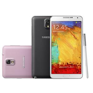 الأصلي مقفلة سامسونج غالاكسي ملاحظة 3 N900A 32GB 5.7inch الهاتف 4G LTE الروبوت رباعية النواة تجديد ملاحظة III