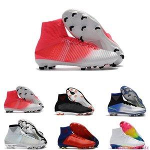Mens CR7 Mercurial x EA SPORTS Superfly V FG Soccer Shoes Magista Obra 2 Boys Soccer Cleats Women Football Boots Youth Cristiano Ronaldo
