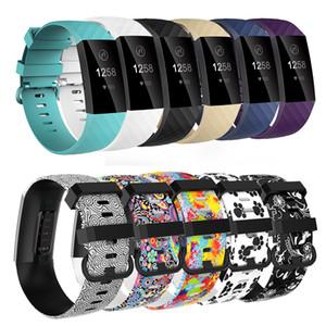 Женщины Мужчины Группа Замена Для Fitbit Заряда 3 Смарт-Аксессуары Браслет Ремешок Браслет Браслет Для Fitbit
